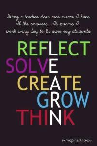 reflect grow